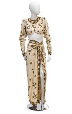 Costume designed by Jean Louis for Rita Hayworth in Gilda (1946)