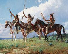 native paintings artwork | Native American Art by Martin Grelle - Desktop Wallpaper