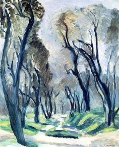 The Path of Olive Trees / Henri Matisse - 1920