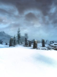 Ancient sanctuaries and nord cities buried under the snow. Lost and forgotten. Myths to the new era.