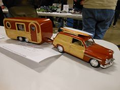 .woody wagon and trailer family vacation set