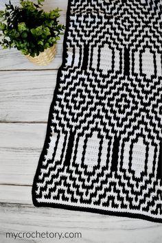 Thassos Mosaic Crochet Blanket instant download PDF pattern | Etsy Crochet Pillow, Crochet Blanket Patterns, Crochet Hooks, Crochet Afghans, Crochet Blankets, Baby Blankets, Tapestry Crochet, Afghan Patterns, Mosaic Patterns