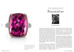 """TOURMALINE is the stone this month at """"The breathtaking beauty of gemstones"""""""