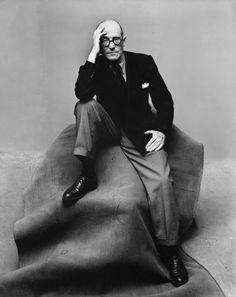 Irving Penn, Le Corbusier, New York, 1947 | PhotoReactive