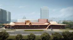 waa建筑案例: 宁夏美术馆. waa, 银川当代美术馆建筑师, 是建筑甲级事务所, 核心团队都是英国皇家注册建筑师, 专业于公共文化建筑和城市规划和景观.