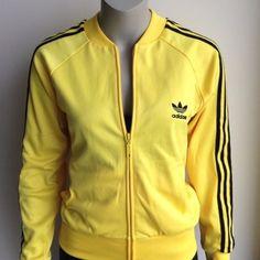 adidas sweater yellow