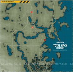Fallout 4 - Total Hack Locations Map