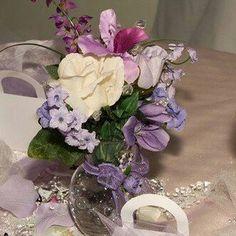 Lavender Table Centerpiece