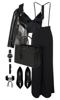 """""""Untitled #2952"""" by theaverageauburn on Polyvore featuring T By Alexander Wang, Yves Saint Laurent, Movado, 8 Other Reasons and Miss Selfridge"""