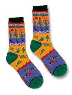 Saguaro Madness Socks/sw indian foundation
