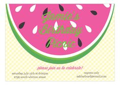 73 best summer party invitations images on pinterest in 2018