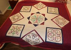 The Guilty Quilter: Progress on the Celtic Knot Quilt
