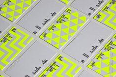 #business card #yellow fluoro