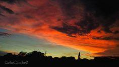 Ángulo #angle #sun #sunset #sky #cali #climate #cloud #tree #colombia #travel #travelcolombia