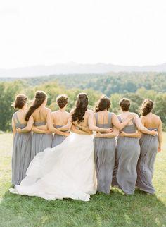 Bridesmaids photography: http://www.stylemepretty.com/north-carolina-weddings/asheville/2015/02/16/romantic-and-regal-biltmore-estate-wedding/ | Photography: Graham Terhune - http://www.grahamterhune.com/