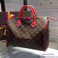 72fd11b3426d Louis Vuitton M41665 Speedy 30 Totem Tote Bag Monogram Canvas
