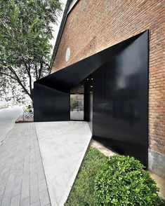 Woo Space by hyperSity Architects located in China Modern Entrance, Entrance Design, Facade Design, Door Design, Exterior Design, Detail Architecture, Interior Architecture, Architecture Tools, Architecture Student