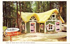 Vintage Enchanted Forest Souvenir Postcard Set | Flickr - Photo Sharing!