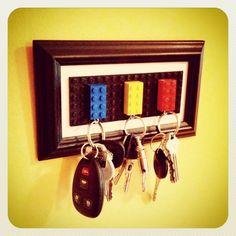 Day 13: Lego Key Holder #30DoC