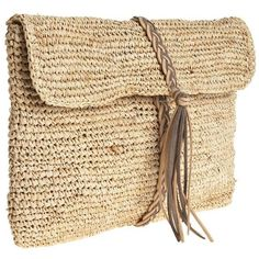 Designer Clothes, Shoes & Bags for Women Beige Purses, Jute Bags, Beaded Clutch, Knitted Bags, Handmade Bags, Vintage Sewing, Fashion Bags, Reusable Tote Bags, Knitting