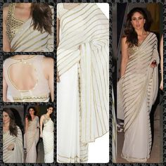 Abstract Shine of ‪#‎Bollywood‬, ‪#‎Beautiful‬ Kareena kapoor saree  Shop Now ҳ̸http://www.fashion4style.com/woman/clothing/bollywood-replica-saree/kareena-kapoor-bollywood-sarees/pid=MTY2