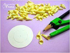Подарки ручной работы: Как я делаю георгины. Paper Flowers, Plastic Cutting Board, Blog, Tutorials, Blogging