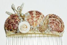 Mermaid Se Shell Comb $18.00