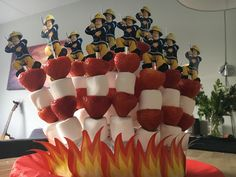 Confetti, Birthday Parties, Child, Treats, Snacks, Party, Recipes, Kids, Firefighter