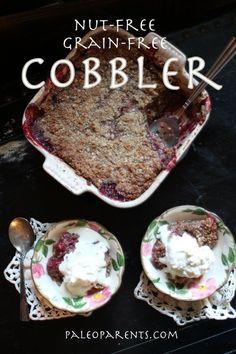 Nut-Free Cobbler on paleoparents.com