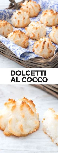 Learn to Make Italian Food Biscotti Biscuits, Biscotti Cookies, Mini Patisserie, Sweets Recipes, Cooking Recipes, Coconut Biscuits, Jam Cookies, Bakery Cakes, Love Eat