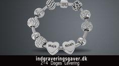 Smykkebuttiker aalborg                                                   Armbånd i sølv med personlig gravering
