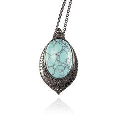 Samantha Wills Mirror Mirror Necklace Turquoise Fashion Drug, Samantha Wills, Bohemian Jewellery, Mirror Mirror, Bridal Style, Turquoise Necklace, Jewelry Design, Pendant Necklace, My Style