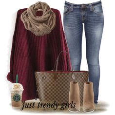 maroon-sweater-outfit- Women apparel and layering ideas http://www.justtrendygirls.com/women-apparel-and-layering-ideas/
