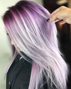 Wege zu verankern von Violetten Frisuren
