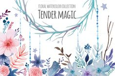 Check out Tender magic by Eisfrei on Creative Market