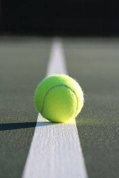 Life is short Play hard Tennis - ball - Wimbledon - green Tennis Clubs, Sport Tennis, Le Tennis, Tennis Players, Tennis Party, Tennis Gear, Tennis Tips, Tennis Equipment, Rafael Nadal