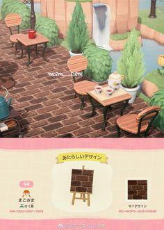 Animal Crossing Wild World, Animal Crossing Guide, Animal Crossing Qr Codes Clothes, Animal Crossing Pocket Camp, Motif Acnl, Motifs Animal, Island Design, New Leaf, Island Life
