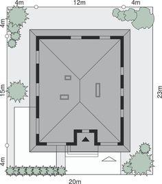 Sytuacja Dom przy Słonecznej 6 CE Furniture, Twins, Home Decor, Decoration Home, Room Decor, Home Furnishings, Gemini, Twin, Arredamento