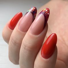 Cursus Fantasy French Manicure with Inlay designs Funky Nail Art, Funky Nails, Spring Nail Art, Spring Nails, Fabulous Nails, Perfect Nails, French Nails, Colorful Nail Designs, Nail Art Designs