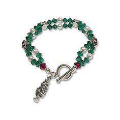Christmas Bracelet Project