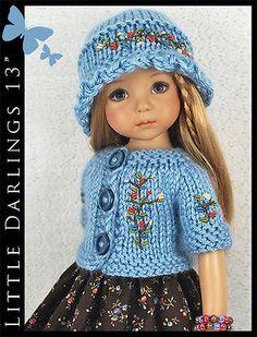 OOAK-Blue-Brown-Outfit-for-Little-Darlings-Effner-13-by-Maggie-Kate-Create