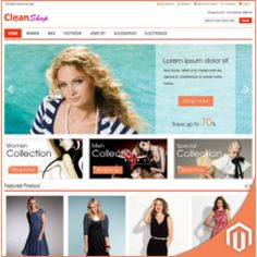 Clean Shop Responsive Themes & Templates
