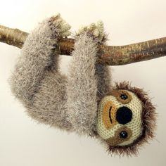 Slocombe The Sloth Amigurumi Pattern