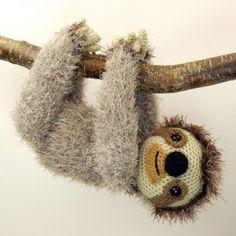 Slocombe The Sloth Amigurumi Pattern