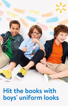 Shop school uniforms for kids of all ages. We make it easy to follow dress code and find the pieces that work with your kids' sense of style and comfort. Stock up at walmart.com