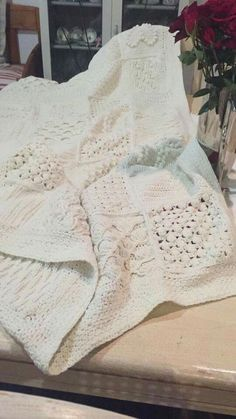 Scheepjes Blanket CAL 2016 (a variation) - In loving memory of the designer Marinke Slump (Wink)- Free Pattern available on Scheepjes Yarn Website Knitted Afghans, Crochet Blankets, Stitch Patterns, Knitting Patterns, Crochet Patterns, Crochet Motif, Knit Crochet, Cal 2016, Last Dance