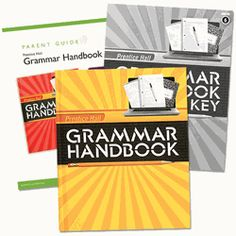 Prentice Hall Grammar Hand Book - Grade 6 Homeschool Bundle (9780133202656) includes the grammar handbook, answer key book and parent guide for a through understanding of grammar, usage and mechanics.