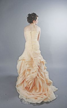 Rose Gown Back View
