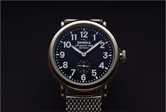 Shinola (Detroit) Watches - now sold at Barneys NY    #followback  www.facebook.com/socmedassist