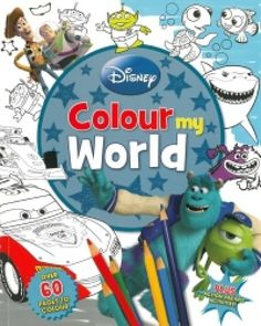 Disney Pixar Colour My World, Disney Pixar, Disney Colors, Book Crafts, Creative Writing, My World, Smurfs, Art For Kids, Coloring Pages, Drawings